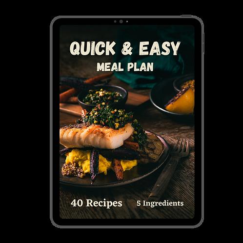 Quick & Easy Mealplan