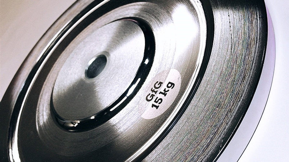 """2 x 15 KG 1"""" Plated Steel Weight Plates"""