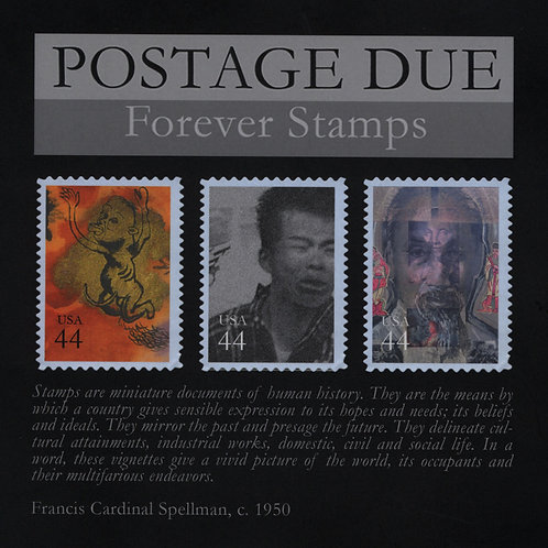 Postage Due Forever Stamps