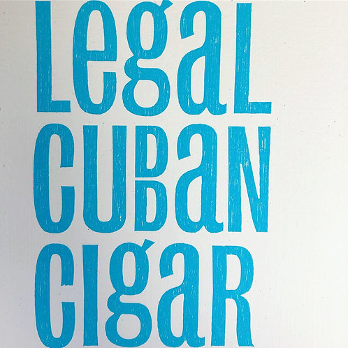 Legal Cuban Cigar