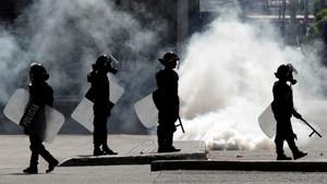 La agresión policial