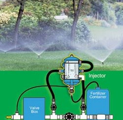 Fertigation, fertiziler and irrigation? I'm for it