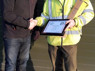 Long Service Award – Stuart McGill