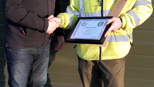 Long Service Award – Stuart McGill