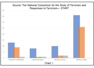 The Journey of Change: Behavioral Trajectories Leading to Terrorism