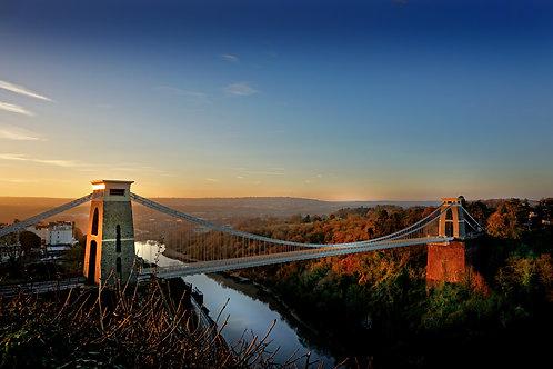 Bristol Suspension Bridge in Winter time - 0323