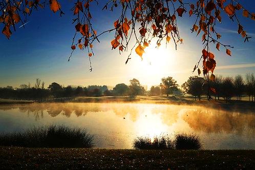 Misty Lake 0877