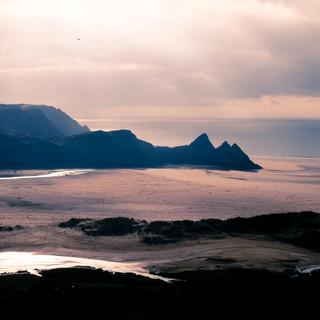 3 Cliffs Bay Split tone