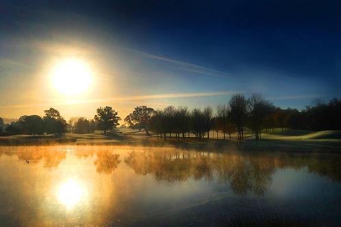 Mist on The Lake 0835