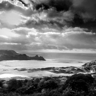 3 Cliffs Bay  South Wales