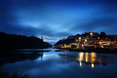 Clifton Bridge at Night 0313