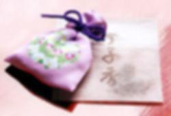 匂い袋-花の掛帯「想」-仏衣・佛衣の京都法繊