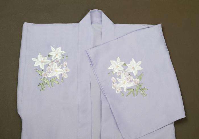 刺繍羽織 花