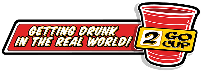 2 Go Cup -  Getting Drunk in the Real World logo