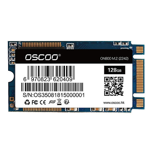 OSCOO 128GB M.2 2242 SSD Laptop