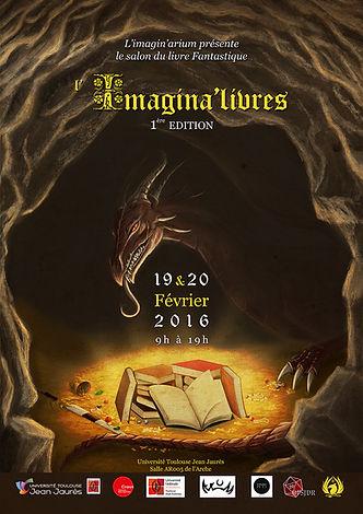 Affiche Imagina'Livres 1ere edition
