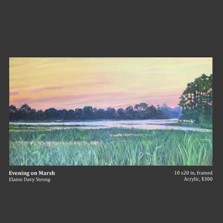 """Evening on Marsh"""
