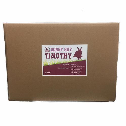 Bunny Hay Timothy Hay - 5lb