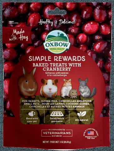 Oxbow Cranberry Treats 心心餅 -3oz