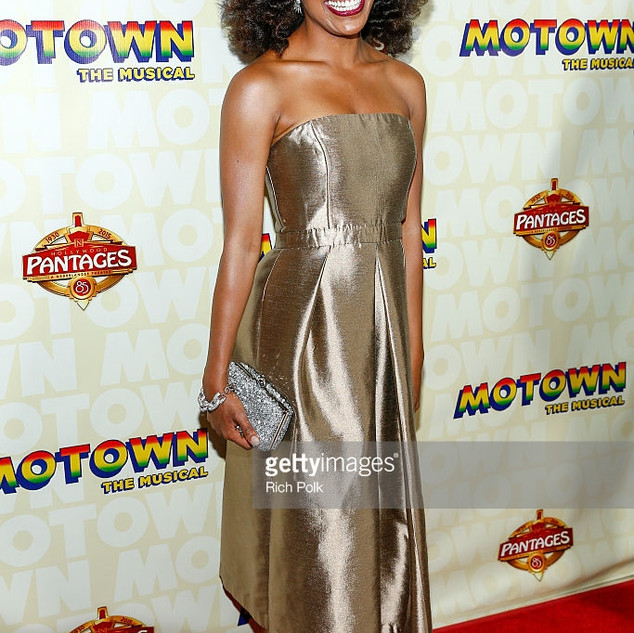 Opening Night of Motown the Musical .