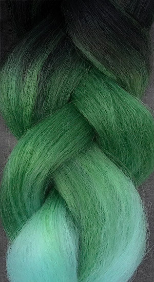 «Jambo silk braid» OMBRE YH47