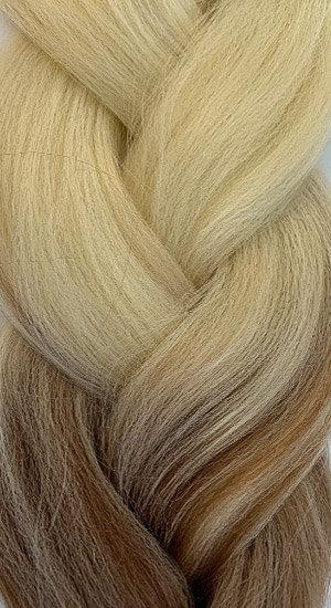 «Jambo silk braid» Ombre blonde brown
