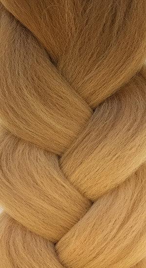 «Jambo silk braid» OMBRE camel