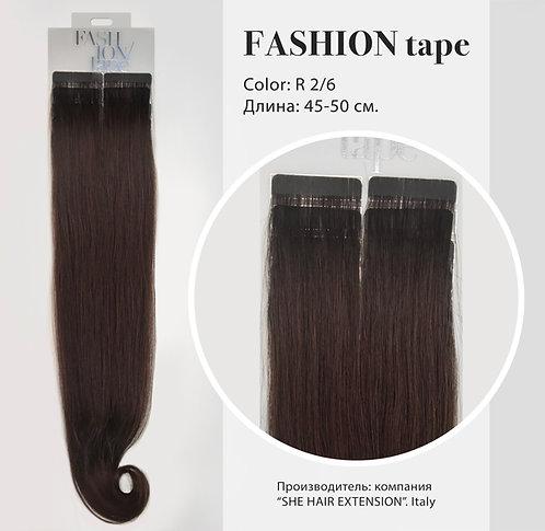 Пряди «Fashion tape» на полимерной ленте Rooted effect № R 2/6