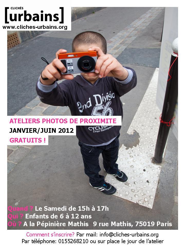 Affiche Ateliers Samedi 2012