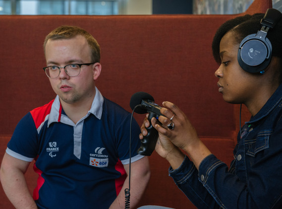 LA MAISON DUHANDBALL Entrainement aux jeux paralympiques