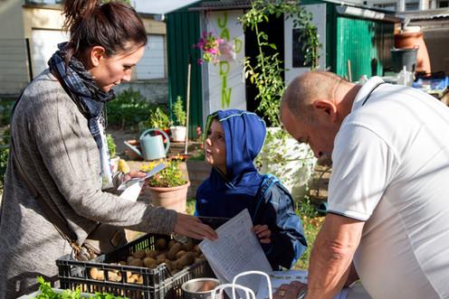 Remise des légumes, Jardin du Bonheur