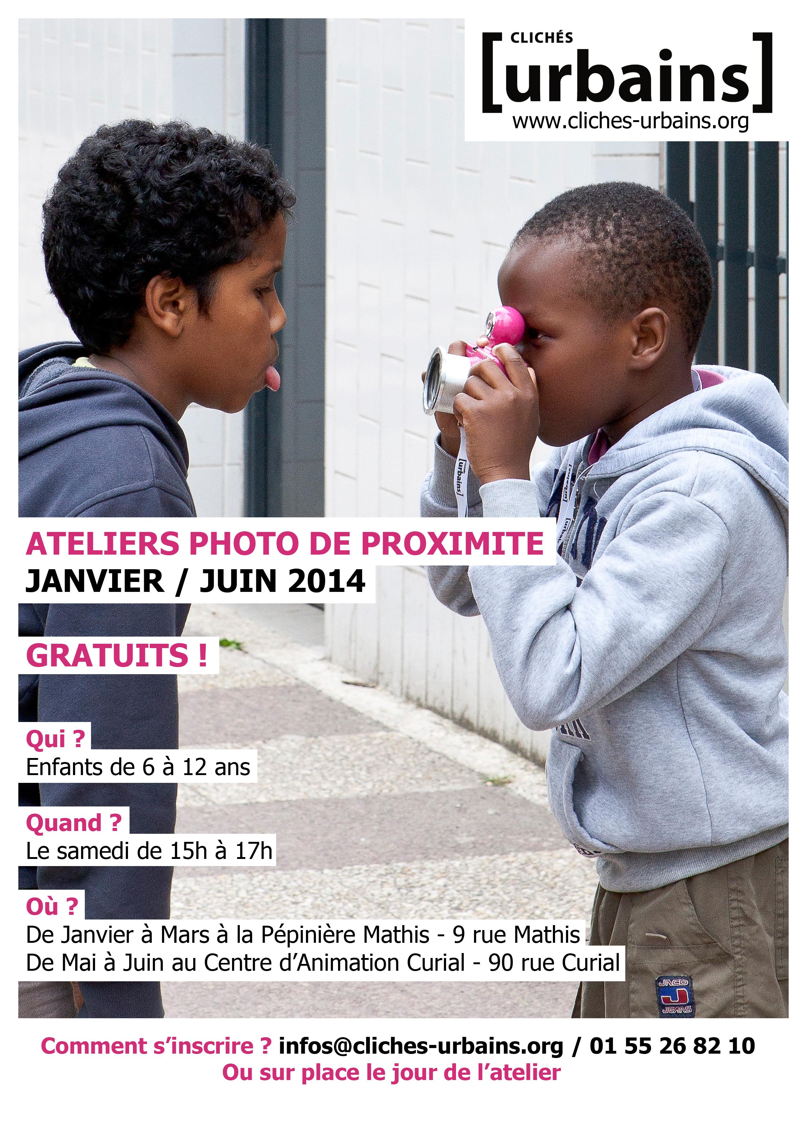 Affiche Atelier 2014 2