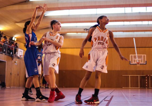 Match de basket d'Anouk Brun