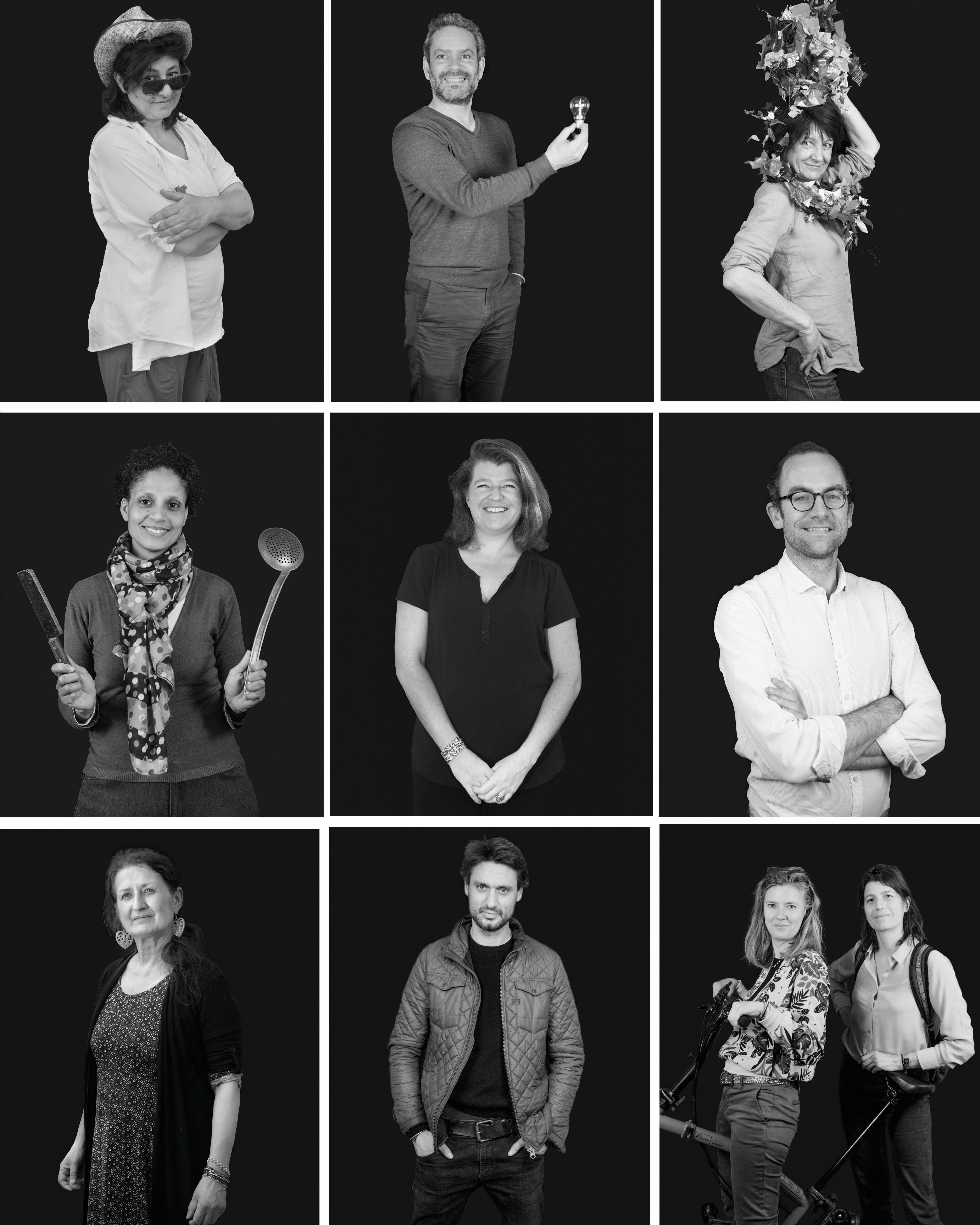 Portraits (de) pros par les Ados