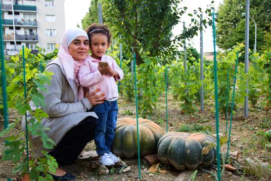 Remise des Légumes, Jardin du Bonheur à Bondy