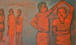 LAST DANCE -3' x 5' Acrylic/Canvas