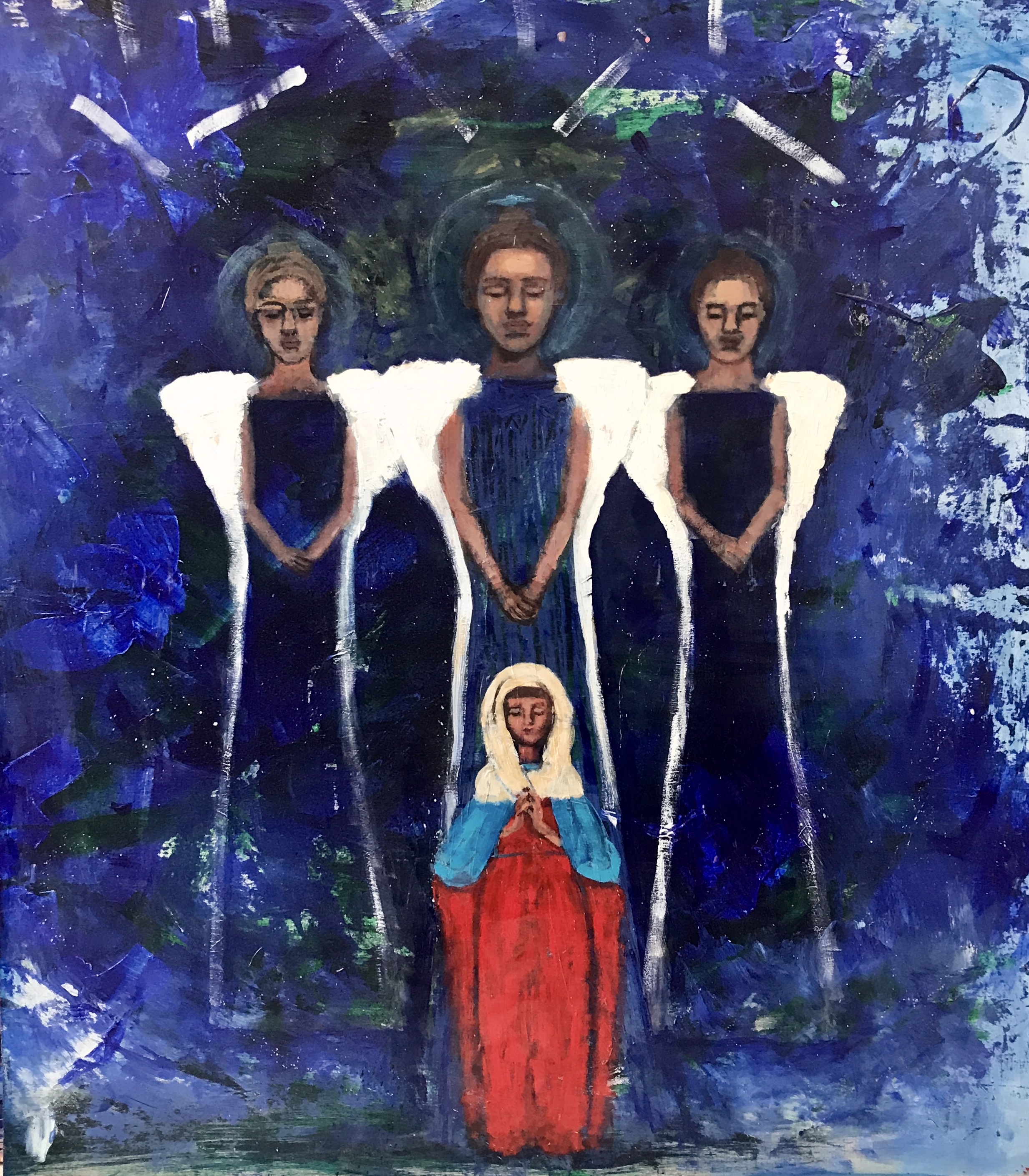 "MOTHER MARY ANGELS - 48""42"" A/W"