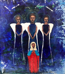 """MOTHER MARY ANGELS - 48""""42"""" A/W"""