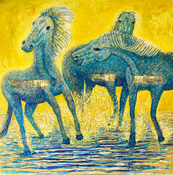 Horses for printing