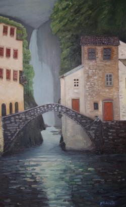 ITALIAN VILLAGE BRIDGE