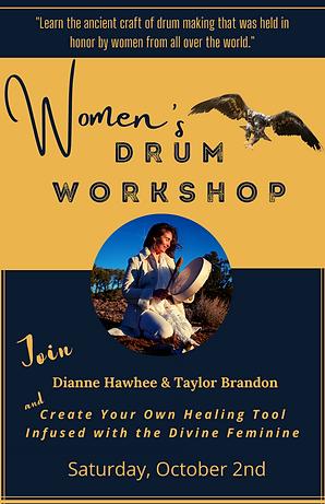 Women's Sacred Drum Workshop in Sedona