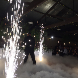 Sunnybrae Dry Ice and Fireworks Auspyro.