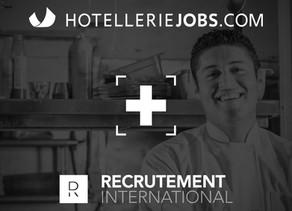 DR Recrutement international : Association avec Hôtelleriejobs