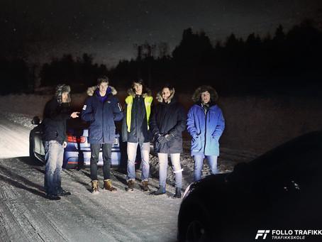 Mørkedemo med elever fra Ski og Oppegård