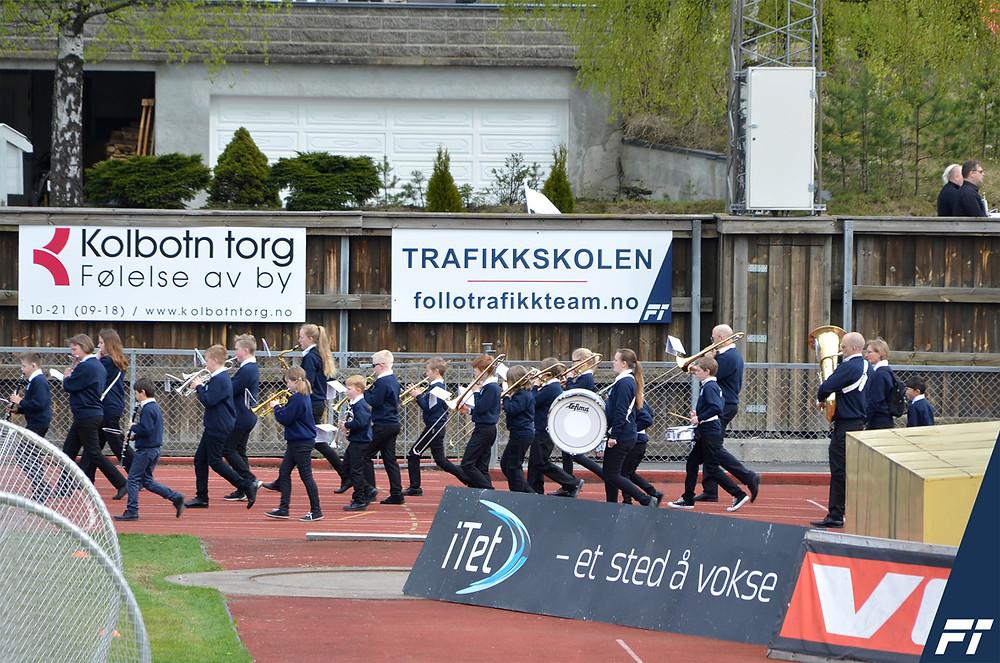Follo Trafikkteam trafikkskole Ski Oppegård Kolbotn Oslo på Kolbotn IL 100 år jubileumskamp