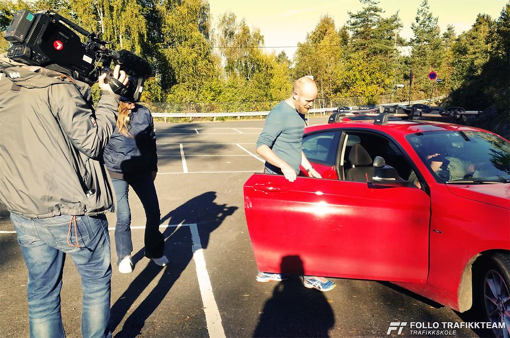 Trafikkskole Ski og Oppegård Follo Trafikkteam TV2 God Morgen Norge
