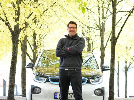 #BMWreporter trafikklærer Øystein Nygård
