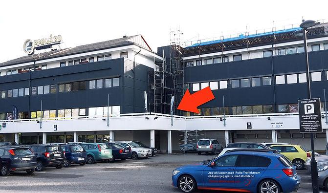 Trafikkskole Follo Trafikkteam lokaler avdeling Oppegård på Oppegård senter