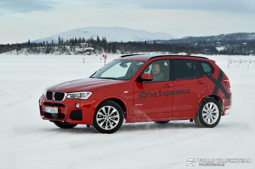 BMW Winter Experience 2017 praktiske øvelser