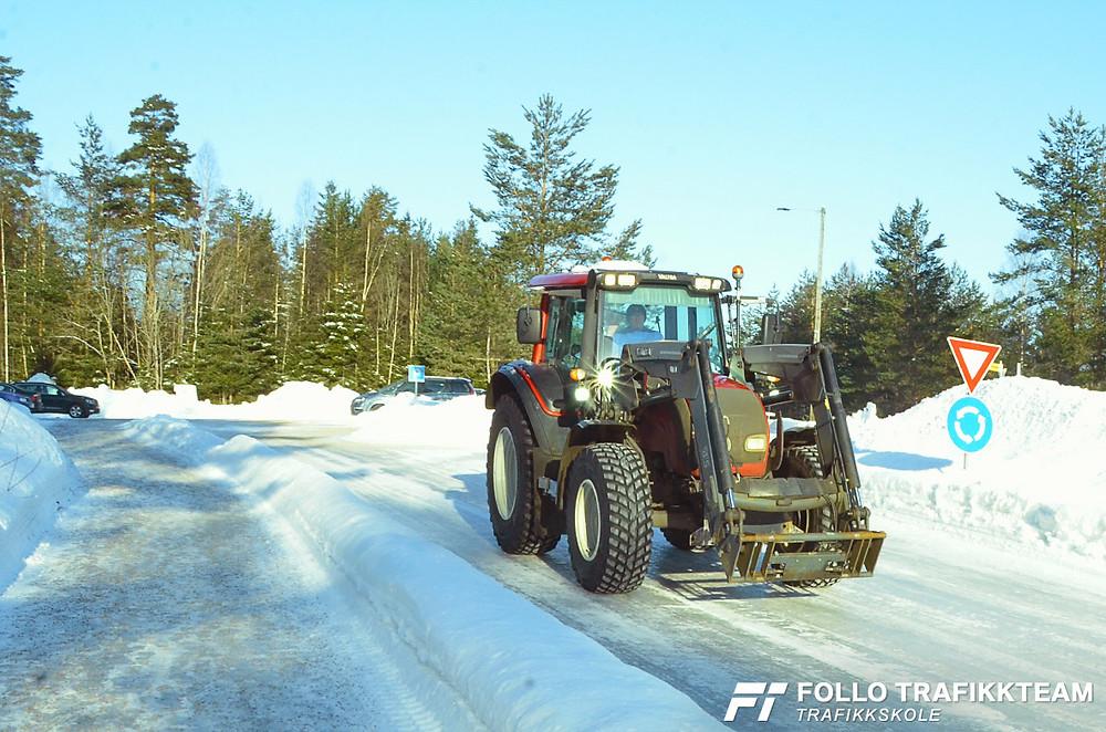 Trafikksikkerhetsdag med trafikkskole Follo Trafikkteam og NAF avd Follo på Nesodden. Anlegg